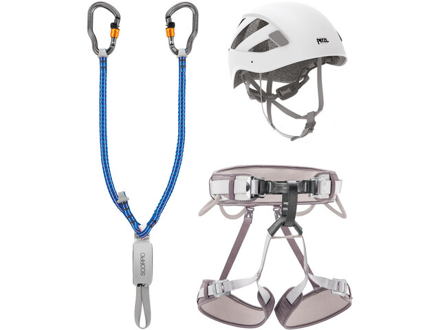 Petzl Vertigo Via Ferrata Kit grey/white